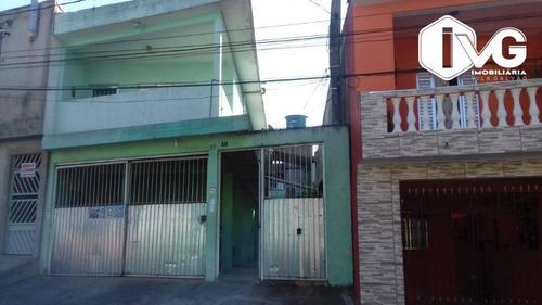 Imagem 1 de 9 de Casa Com 3 Dormitórios À Venda, 195 M² Por R$ 390.000,00 - Parque Maria Helena - Guarulhos/sp - Ca1490
