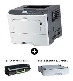 Impressora Laser Monocromática Lexmark Duplex Promoção