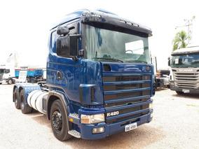 Scania 124 420 6x2 Motor Novo 2005