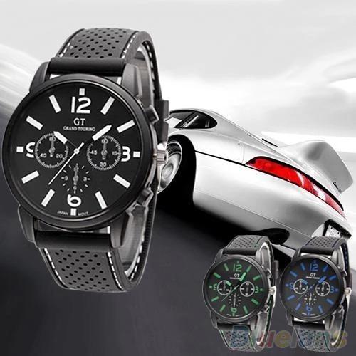 Relógio Masculino Racer Pulseira De Silicone - Muito Barato.