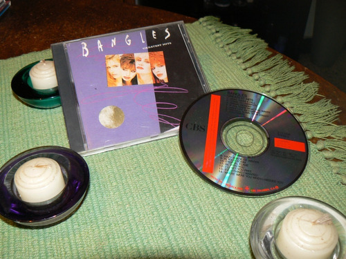 Bangles  Greatest Hits    Cd  Solo Joyas Coleccion 2021