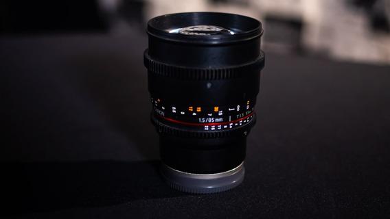 Lente Rokinon 85mm T1.5 Cine Ds Sony E-mount