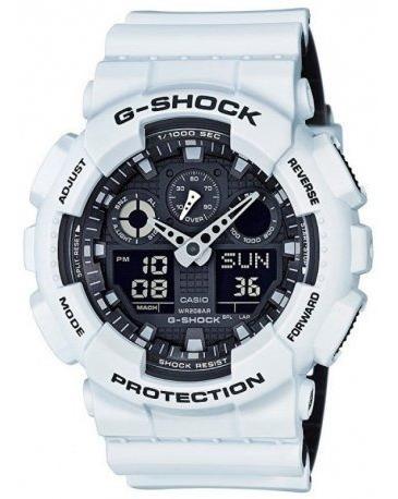 Relogio Casio G-shock Ga-700-7adr Branco Original