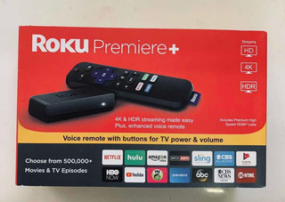 Roku Premiere + Plus 3921xb - 4k Hdr
