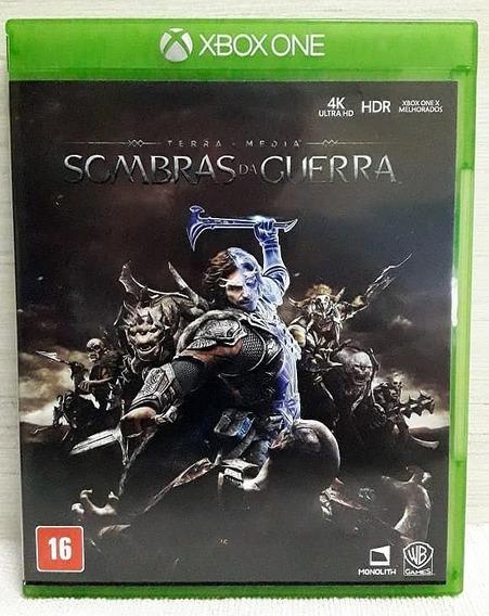 Sombras Da Guerra - Xbox One - Mídia Física - Pronta Entrega