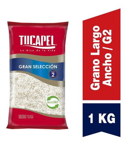Imagen 1 de 3 de Arroz Gran Selección G2 Tucapel 1kg