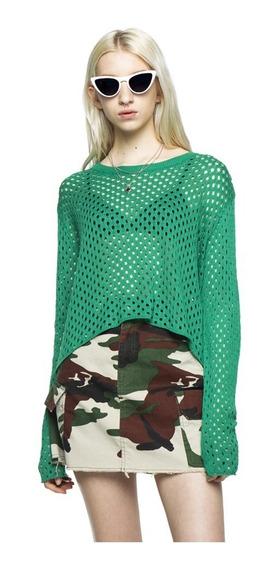 Sweater Mark Tejido Cuello Redondo Mujer Complot