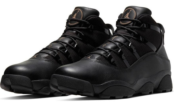 Jordan Winterized 6 Rings Boots Black Originales
