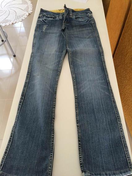 Calça Jeans Triton Feminina Reta Com Stretch