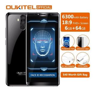Celular Oukitel K6 6gb 64gb Android 7.1 4g Pronta Entrega