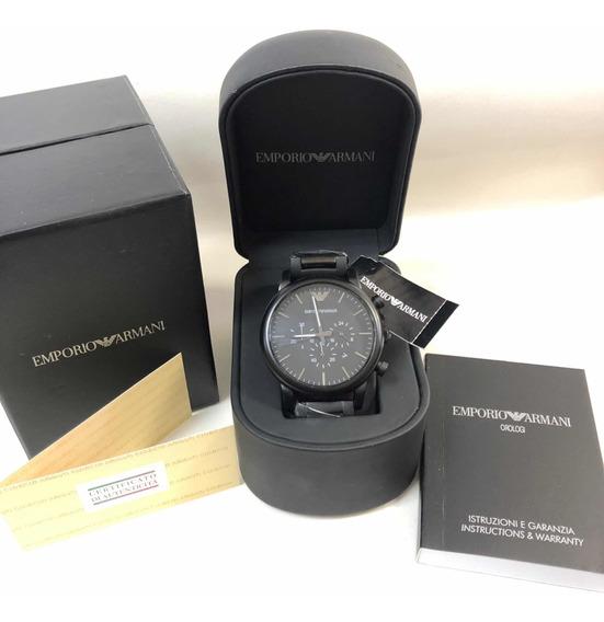 Relógio Emporio Armani Ar1895 Pvd Com Caixa E Garantia