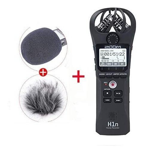 Gravador De Áudio Digital Zoom H1n Grátis Cortavento Deadcat