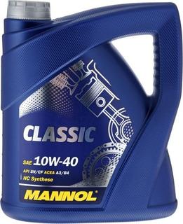 Aceite Mannol Classic 10w40 X4l Semi-sintetico (germany)