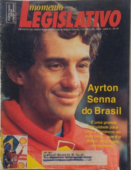 Revista Momento Legislativo. Ayrton Senna Do Brasil