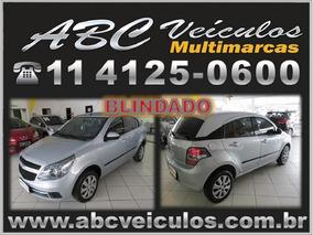 Chevrolet Agile Lt 1.4 Flex - Completo - Ano 2012 - Blindado