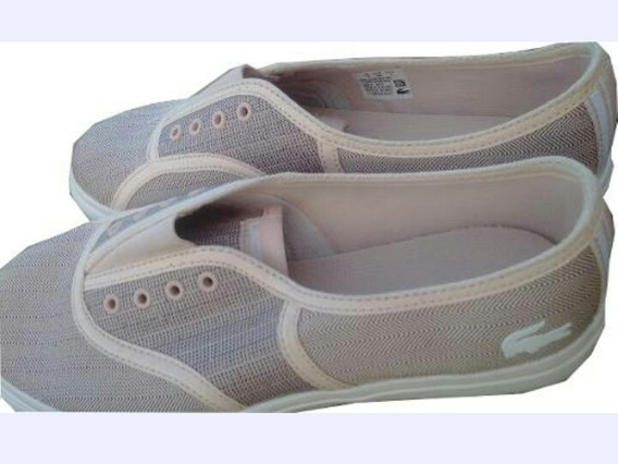 Zapato Para Dama Lacoste Rene Vaultstar De Lona Texturizada