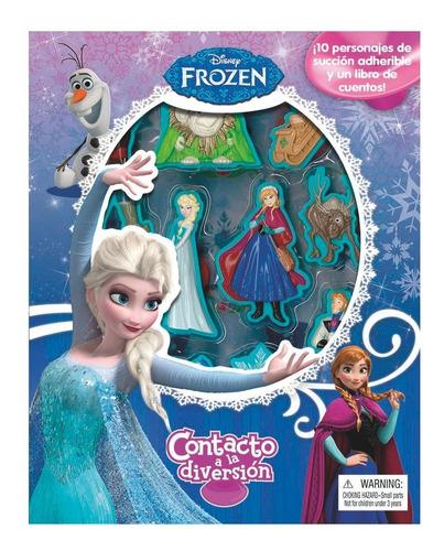 Libro Didactico Contacto A La Diversión Frozen