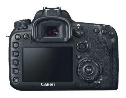 Canon 7d Único Dono Camera De Backup Pouco Uso