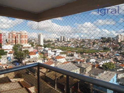 Apartamento Com 2 Dormitórios Para Alugar, 51 M² Por R$ 1.200,00/mês - Jardim Oriental - São Paulo/sp - Ap0057