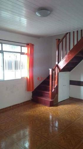 Sobrado Com 2 Dormitórios À Venda, 57 M² Por R$ 390.000,00 - Penha De França - São Paulo/sp - So0268