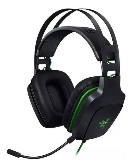Fone de ouvido Razer Electra V2 preto e verde