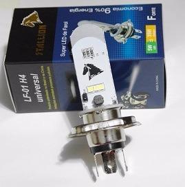 Lampada Farol Led Super Branca H4 Twister / Cb 300 / Xre 300