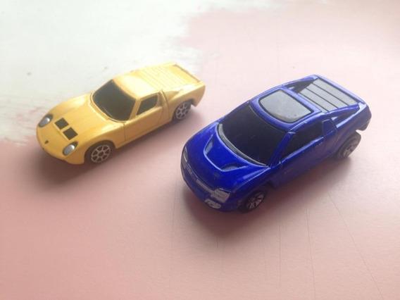 2 Carros Chevrolet Borrego E Lamborghini Miura Maisto $29,93