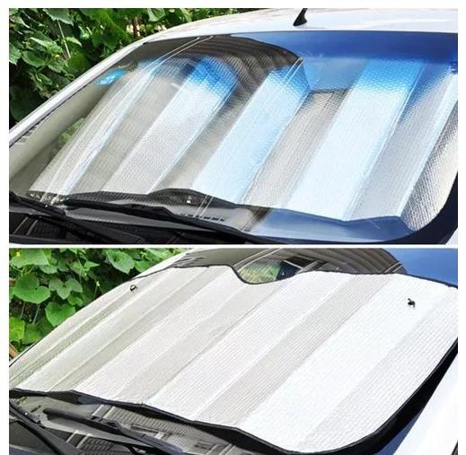 Protetor Solar De Painel Veicular Folha De Aluminio Interno