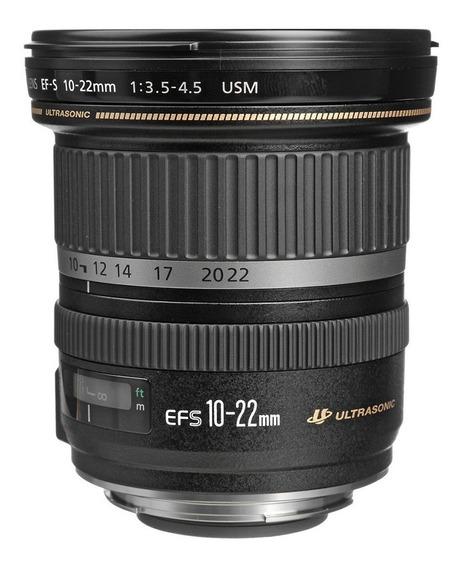 Lente Canon Ef-s 10-22mm F3.5-4 Usm 12x Sem Juros