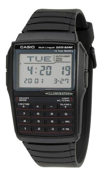 Reloj Casio P Hombre Dbc32-1a Data Bank Digital-pila 10 Años