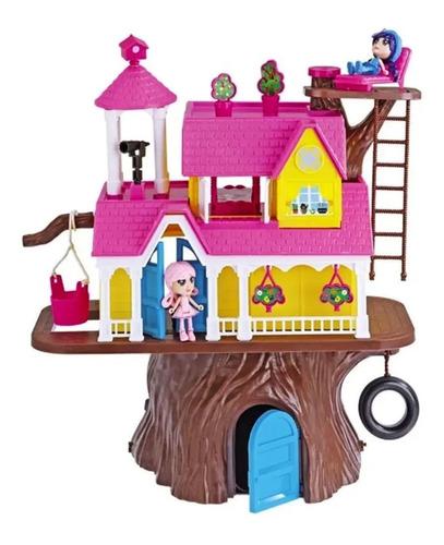 Imagen 1 de 3 de Casa Del Arbol Casa De Muñecas Gigante Con Muebles Lionels