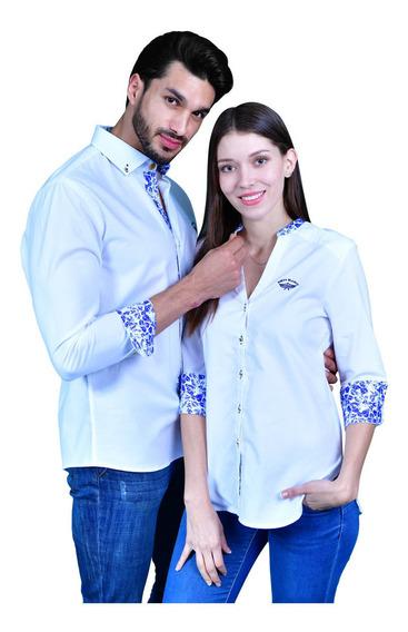 Kit De Camisas Porto Blanco Dama O Caballero Parejas De-958