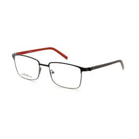 09c8ceb12 Óculos De Grau Masculino Cannes 5012 T 53 C 02 Metal Preto