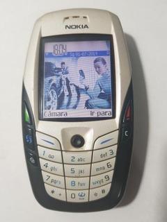 Nokia 6600 Gold - Symbian - Reliquia - Desblq