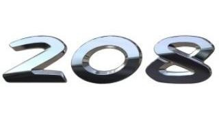 Monograma Numeros Peugeot 208 1.5 16v