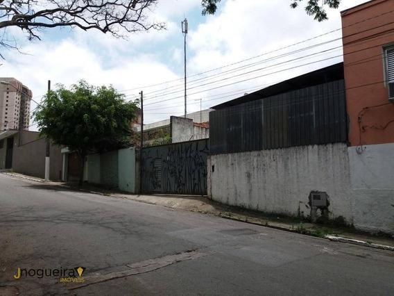 Terreno Jardim Marajoara Com Projeto Aprovado - Te0005