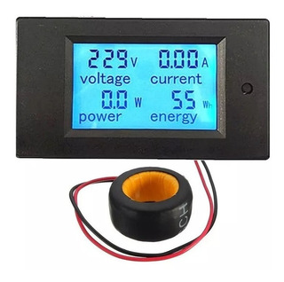 Voltímetro Digital Ac . Wattímetro Amperímetro Kilowatts