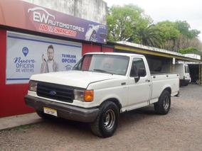 Ford F-100 Blanca Motor Mwm Caja 5ta Precio 100% Financiado