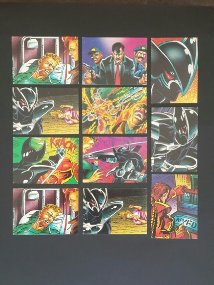 Lote X11 Tradings Cards Shadowhawk Image Comics