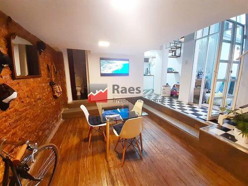 Gran Duplex De Pasillo, 1 Dormitorio, Reciclado Y Con Patio