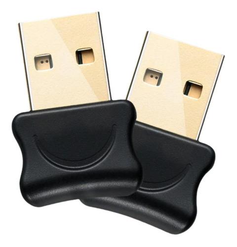 Imagem 1 de 8 de Mini Micro Adaptador Bluetooth Pc Computador Notebook 5.0