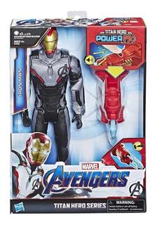Figura Iron Man Avengers Marvel Endgame Con Proyectil