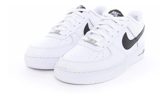 Tenis Nike Air Force 1 Blanco Negro Originales En Caja