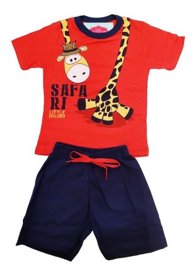 Kit Lote 10 Conjunto Infantil Menino Masculino Shorts Moletom Moletinho Camiseta Com Manga E Regata Verão Mega Promoção