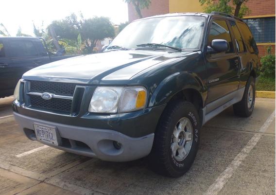 Ford Expolorer Sport Año 2001, Motor 4.0, 3 Puertas, Verde