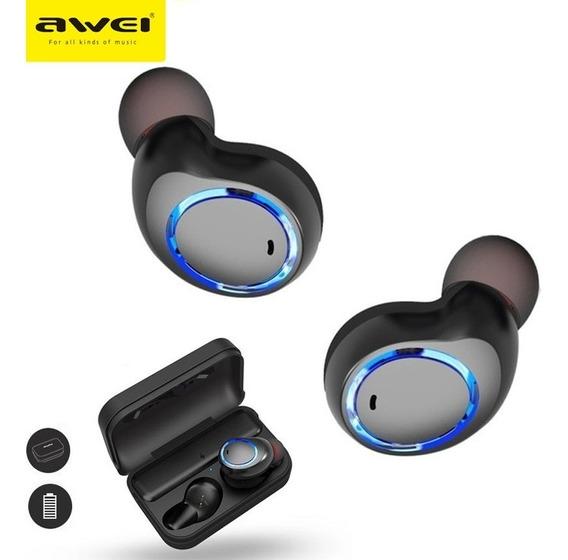 Fone De Ouvido Bluetooth 5.0 Awei T3 Earbuds A Prova D