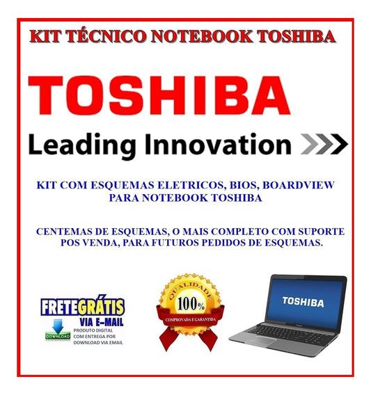 Kit Not Toshiba Com Esquema, Bios, Boardview Frete Grátis