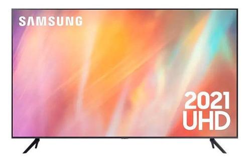 Imagen 1 de 8 de Televisor Samsung 65  4k Uhd Smart Tv 2021 Crystal Un65au700