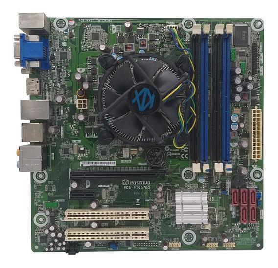 Kit Gamer Intel Core I7 870 2,9ghz + Cooler + Placa Mãe Intel 1156 Q57