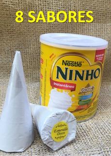 50 Cones Grande Trufado - Revenda Artesanal Atacado + Brinde